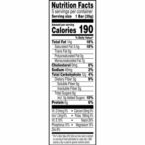 Kashi Vegan Chewy Granola Bars Chocolate Peanut Butter Perspective: left