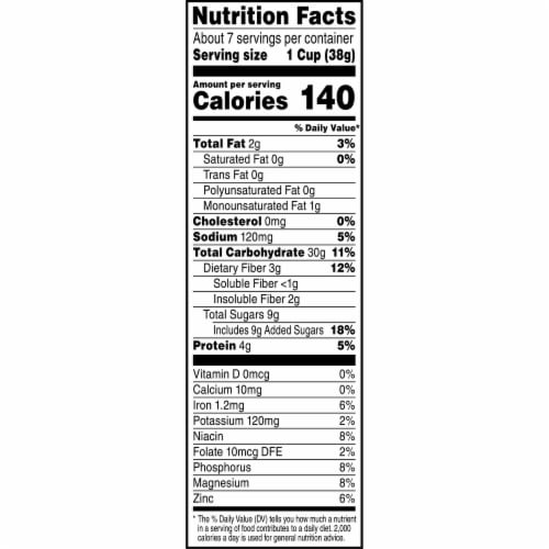 Kashi by Kids Organic Chocolate Super Loops Cereal Perspective: left