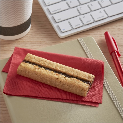 Kashi Soft Baked Ripe Strawberry Breakfast Bars Perspective: left