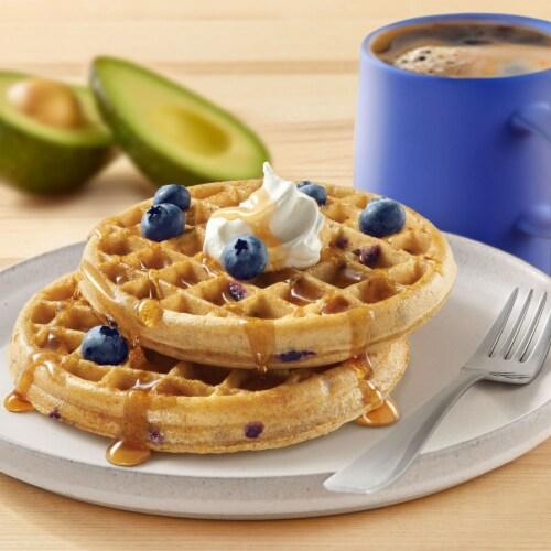 Kashi Blueberry Waffles Perspective: left