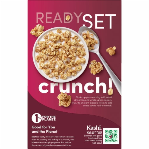Kashi GO Crunch Non-GMO Project Verified Breakfast Cereal Original Perspective: left