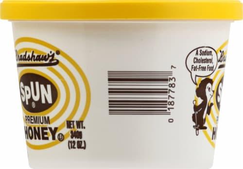 Bradshaw's Spun Premium Honey Perspective: left