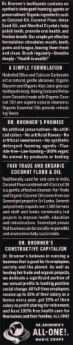 Dr. Bronner's Anise All-One Toothpaste Perspective: left