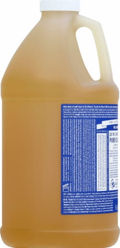 Dr. Bronner's Magic Soaps 18-in-1 Hemp Peppermint Pure-Castile Liquid Soap Perspective: left