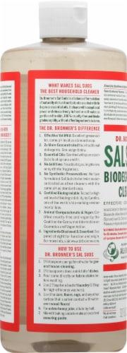 Dr. Broner's Sal Suds Biodegradable Liquid Cleaner Perspective: left