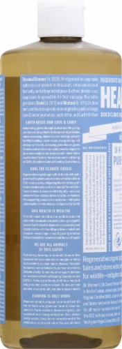 Dr. Bronner's Unscented Pure-Castile Baby Soap Perspective: left