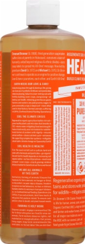 Dr. Bronner's 18-in-1 Hemp Tea Tree Pure-Castile Liquid Soap Perspective: left