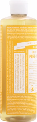 Dr. Bronner's Citrus Pure-Castile Soap Perspective: left