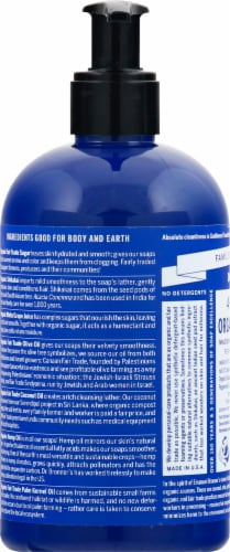 Dr. Bronner's Organic Mint Hand And Body Soap Perspective: left
