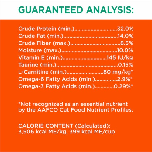 IAMS ProActive Health Hairball Care with Chicken & Salmon Adult Dry Cat Food Perspective: left