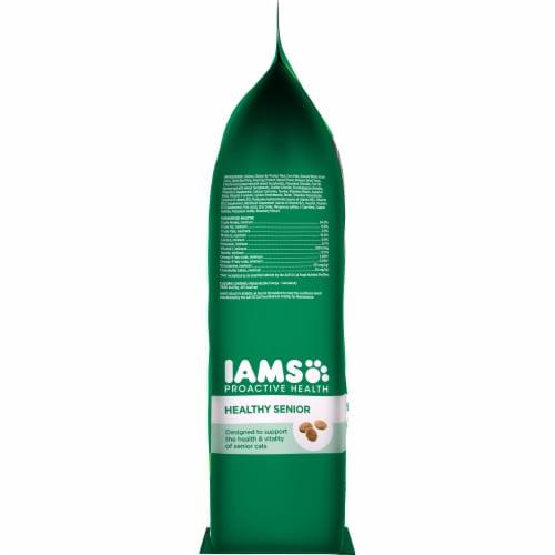 IAMS Proactive Health Healthy Senior Chicken Dry Cat Food Perspective: left