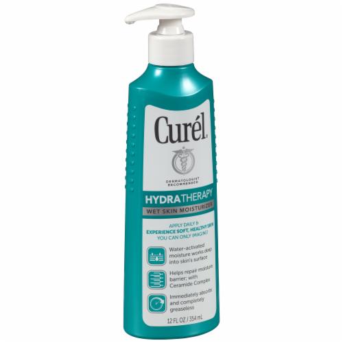 Curel HydraTherapy Wet Skin Moisturizer Perspective: left