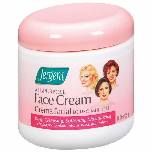 Jergens All-Purpose Face Cream Perspective: left