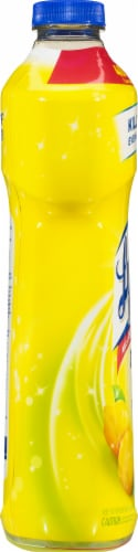 Lysol Clean & Fresh Sparkling Lemon & Sunflower Essence Scent Multi-Surface Cleaner Perspective: left