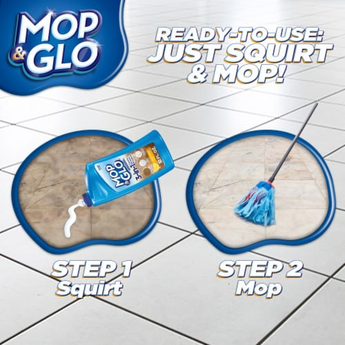 Mop & Glo Multi-Surface Floor Cleaner Perspective: left