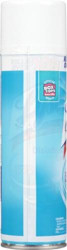 Lysol Crisp Linen Scent Disinfecting Spray Perspective: left
