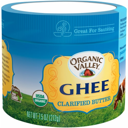 Organic Valley Ghee Clarified Butter Perspective: left
