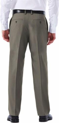 Haggar Men's E-Clo Classic Fit Dress Pants - Gray Perspective: left