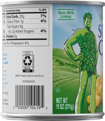 Green Giant Steam Crisp Whole Kernel Sweet Corn Niblets Perspective: left