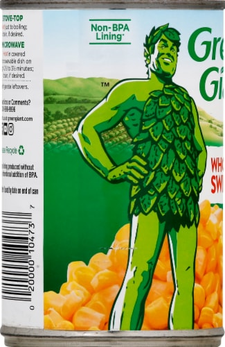 Green Giant Whole Kernel Sweet Corn Perspective: left