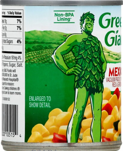 Green Giant Mexicorn Perspective: left