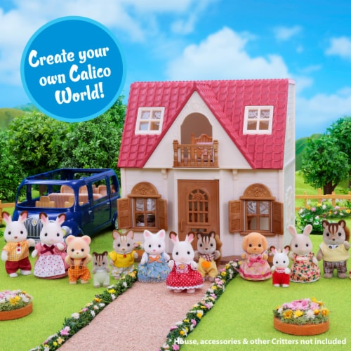 Calico Critters Wilder Panda Family Perspective: left