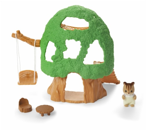 Calico Critters Baby Treehouse Play Set Perspective: left