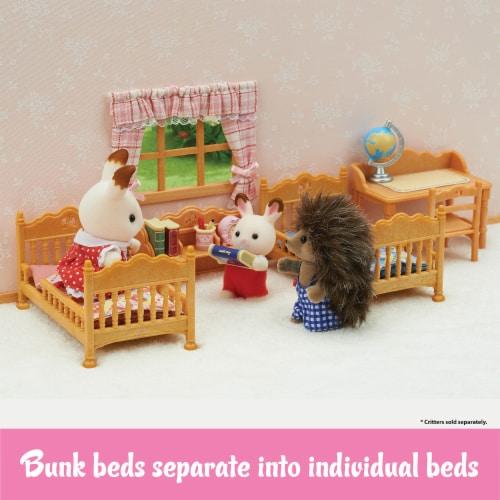 Calico Critters Children's Bedroom Set Perspective: left