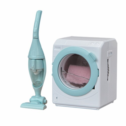 Calico Critters Laundry 'n Vacuum Cleaner Playset Perspective: left