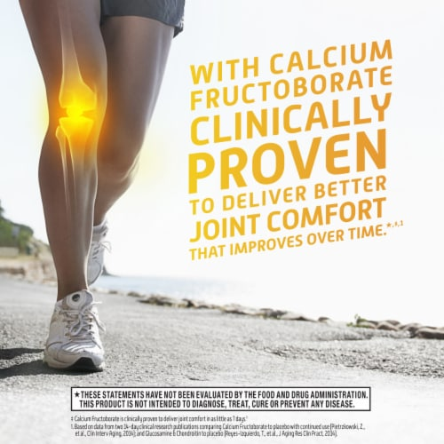 Move Free Joint Health Ultra Bone Strength Supplement Tablets Perspective: left