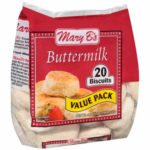 Mary B's Buttermilk Biscuits Perspective: left