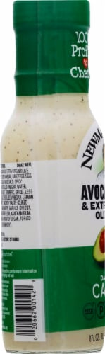 Newman's Own Dairy-Free Avocado Oil & Extra Virgin Olive Oil Caesar Dressing Perspective: left