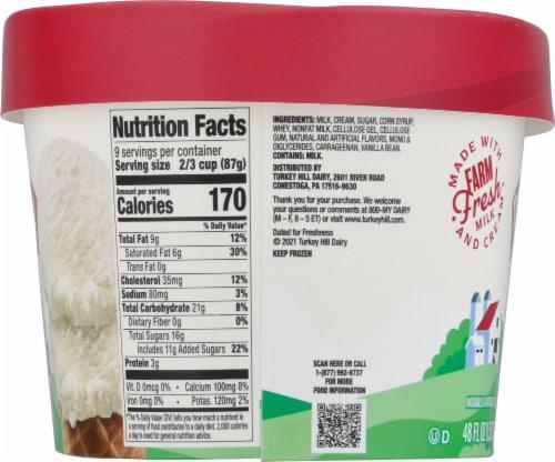 Turkey Hill® Vanilla Bean Ice Cream Perspective: left