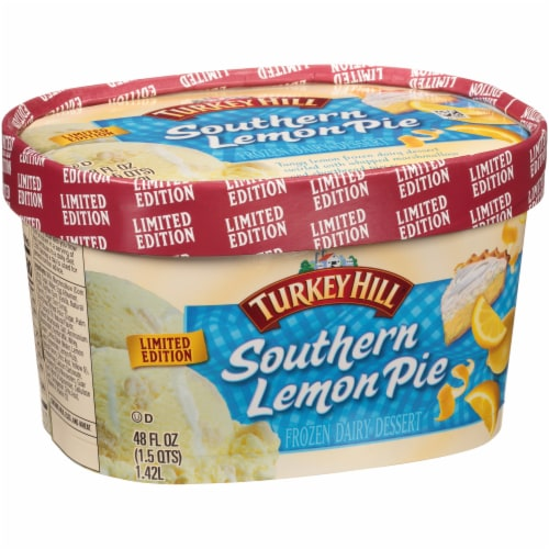 Turkey Hill® Limited Edition Premium Seasonal Southern Lemon Pie Ice Cream Perspective: left