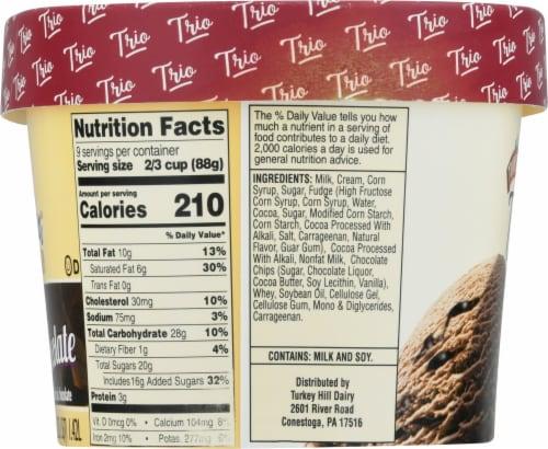 Turkey Hill Trio'politan Triple Chocolate Premium Ice Cream Perspective: left