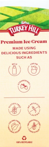 Turkey Hill Strawberry Fruit & Cream Bars Perspective: left