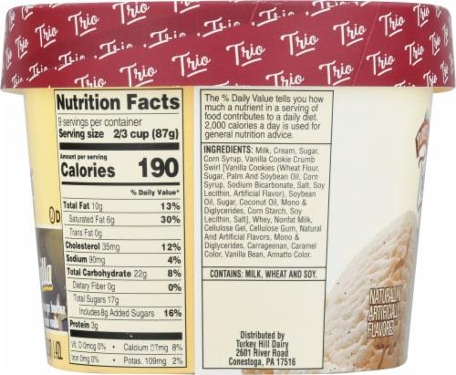 Turkey Hill® Trio'politan Triple Vanilla Ice Cream Perspective: left