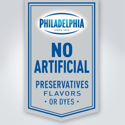 Philadelphia Strawberry Cream Cheese Spread Perspective: left