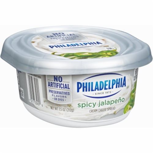 Philadelphia Jalapeno Cream Cheese Perspective: left