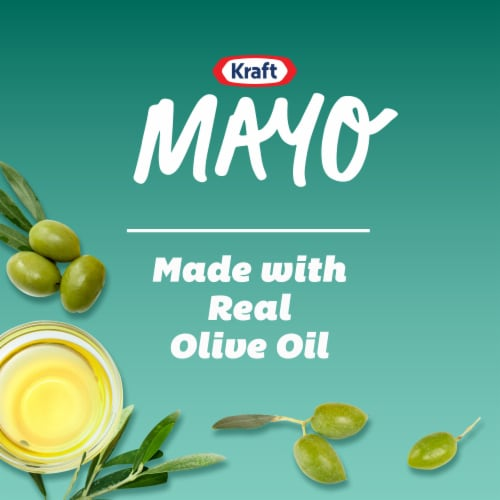 Kraft Olive Oil Mayonnaise Perspective: left