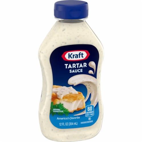 Kraft Tartar Sauce Perspective: left