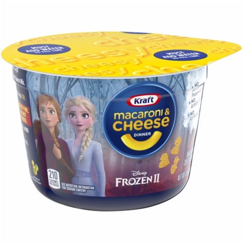 Kraft Olaf's Frozen Adventure Shapes Macaroni & Cheese Dinner Perspective: left