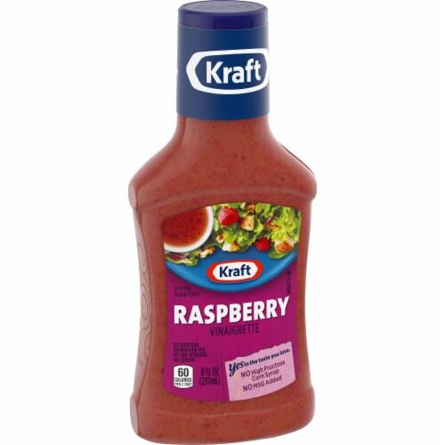Kraft Raspberry Poppy Vinaigrette Perspective: left