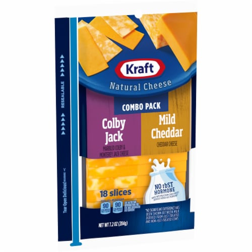 Kraft Colby Jack and Mild Cheddar Combo Pack Perspective: left