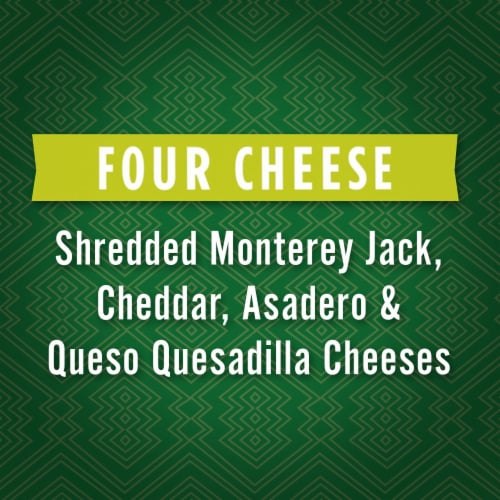 Kraft Mexican Style Four Cheese Shredded Cheese Perspective: left
