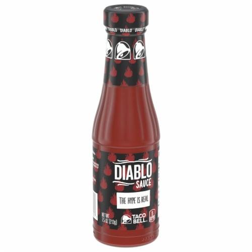 Taco Bell Diablo Sauce Perspective: left