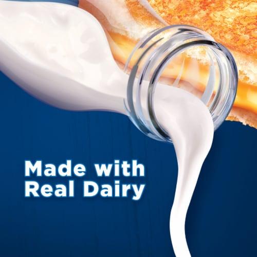Kraft Deli Deluxe American Cheese Slices Perspective: left