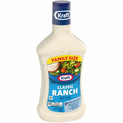 Kraft Classic Ranch Dressing Perspective: left