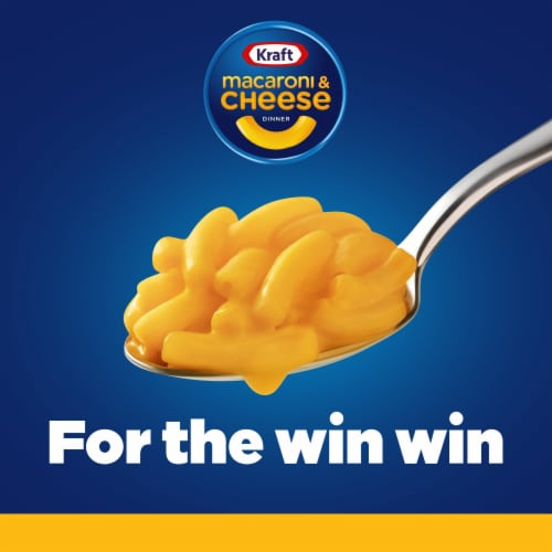 Kraft Original Flavor Macaroni & Cheese Dinner Perspective: left