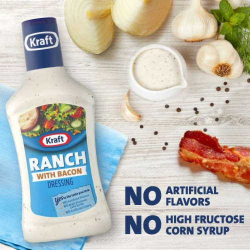 Kraft Ranch with Bacon Dressing Perspective: left